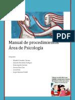 Manual de Procedimientos y Flujograma