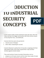 Introduction to Industrial Security Concepts