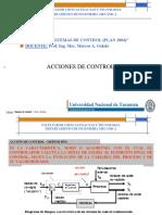 ACCIONES DE CONTROL