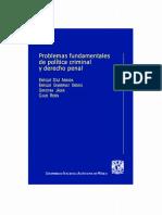 Díaz Aranda, Enrique - Problemas fundamentales de la política criminal y el derecho penal.pdf