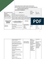 Formato de Planificación Básica y Bachillerato