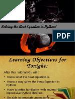 EulerMethodin PythonPresentation