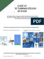 Clase 15 de energías renovables