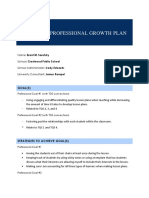 growth and develop for ps1 placement
