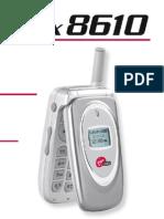 Virgin Mobile Cell Manual-VM8610