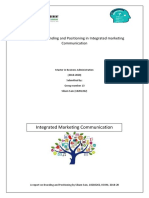 A Branding and Positioning in IMC