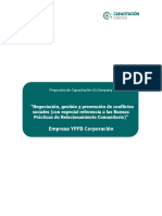 Propuesta de Capacitación in Company - YPFB Corporación