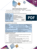Activity Guide and Evaluation Rubrics - Task 7 - Final Activity