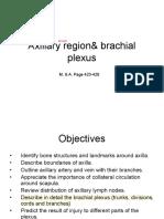 Axillary Region& Brachial Plexus