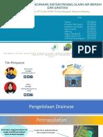 Presentasi Akhir Studio PIAS 2019 Bagian Drainase