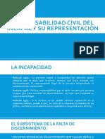 Responsabilidad Civil Del Incapaz y Su Representación