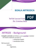 ARTROZE-Geriatrie