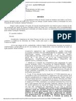 DECISÃO SUSPENDENDO NOMEAÇÃO DO SR. SÉRGIO CAMARGO