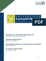 Jaqueline Quijano Sierra 4.2 Cognotivismo