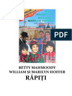 Mahmoody, Betty - 3. Rapiti