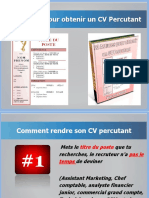 23 Astuces Pour Obtenir Un CV Percutant
