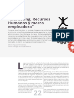 Marketing Recursos Humanos y Marca Empleadora