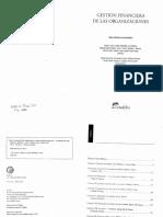 Gestión Financiera de Las Organizaciones