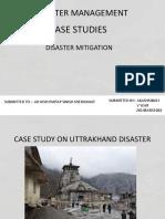 Uttrakhand  disaster Case Study