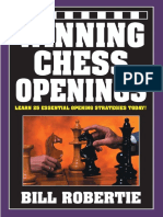 Ganando Winning Chess Openings - Bill Robertie