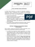 11. Procedimiento de Reserva de Historias Clinicas