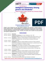 AI Seminar 2019 Brochure