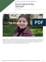 ¿Cómo Podría Ser Exitosa La Ley de Inclusión Laboral_ - Eleconomistaamerica.cl