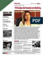 """""""El Golpe de Estado en Bolivia, fue de elite, clasista, racista y machista"""""""