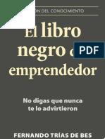 El Libro Negro Del Emprendedor - Fernando Trias de Bes