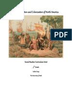 curriculum unit colonization   explorationpdf