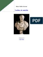Laelius de amicitia.pdf