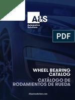As Wheel Bearing Catalog Sp En