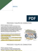 Procesos y Equipos de Combustión Fundamentos II Motores - Parcial No.2