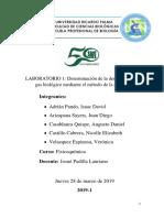 Laboratorio 1-Determinación de La Densidad de Un Gas Biológico Mediante El Método de La Efusión