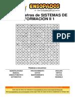 Sopa de Letras de Sistemas de Información II 1