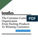 The Customer Centric Organization