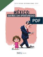 Mexico sueños sin oportunidad