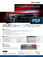 Car Audio MVH-X395BT