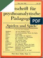 ZfpP_VI_1932-5-6 - Spielend Und Spiele