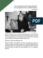 Pr. Daniil de La Rarau - Toate Bolile de Stomac, De Intestine, De Rinichi, De Ficat Şi Afecţiunile Psihice Se Produc Din Cauza Gândurilor Rele Şi a Supărărilor Lăuntrice
