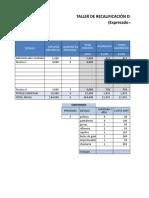 Estructura Costos Taller Gnv