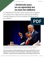 Démission émissaire américain / Le Monde