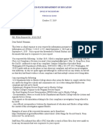 FOIA no records for clery act investigation records