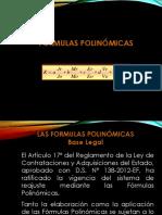 Formulas Polinomicas