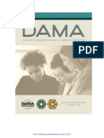 DAMA DMBOK Spanish Version
