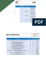 PL-SIG-002 Matriz de Objetivos V01
