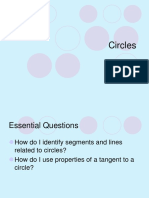 Angles and Arcs of Circles PowerPoint.ppt