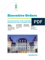 Reinvent Albany Executive Orders