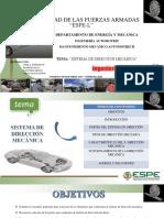 Sistema Direccion Mecanica
