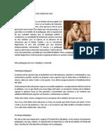 Pensamiento Pedagógico de Juan Luis Vives